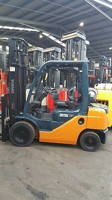 Toyota 8FG25 4m Lift 2.5T Forklift Good Condition $10999+GST Negotiable NSW