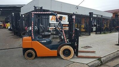 Toyota Forklift 8FG25 3000mm Lift Non Marking Tyres !WEEKLY SPECIAL!  $10500+GST