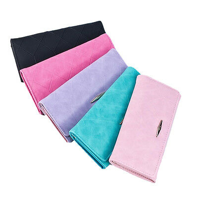 Women Hasp Coin Purse Long Wallet Card Holder Envelope Clutch Handbag
