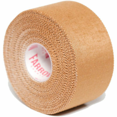 8 Rolls Premium Rigid Sports Strapping Tape 38mmx13.7m Athletic Muscle Support