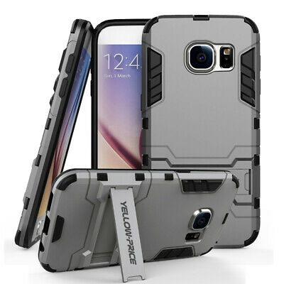 Shockproof Slide Card Heavy Duty Armor Case Cover F iPhone 7 Plus 7 6S 6 Samsung