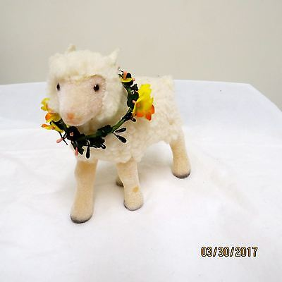 American Girl Doll Felicity Posie The Lamb & Her wreath Too