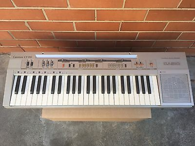Vintage Casio Casiotone CT-310 Synthesizer, Keyboard, Organ, 1980's, GWC