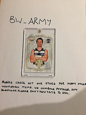 2017 AFL Select Footy Stars Brownlow Predictor Patrick Dangerfield BP50 Geelong