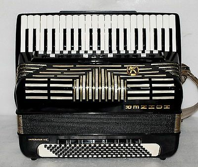 Hohner IMPERATOR VS Piano Accordion Akkordeon Fisarmonica Very good