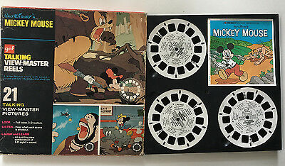 MICKEY MOUSE - Talking View-master Reels in box