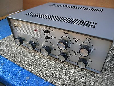 Vintage Eric stereo tube integrated 24 watts. working great condition u.s.a