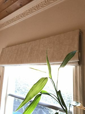 Custom Made Window Furnishings -Roman Blinds X 3. 130cmx150cm