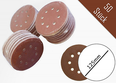 SBS Lot de 50 disques abrasifs Ø 125 mm – Grain