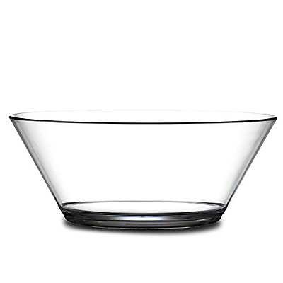 Elite Polycarbonate Serving Bowl 1.75ltr - Virtually Unbreakable Plastic Bowl fo