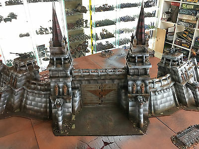 WarHammer 40K ForgeWorld Imperial Fortress Complete