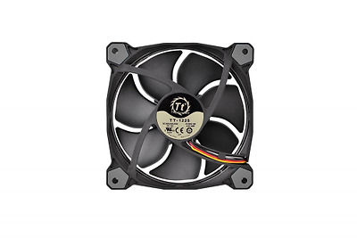 Thermaltake - Riing 12 LED - Ventilateur PC (12 cm - RGB LED Rouge / Vert / Bleu