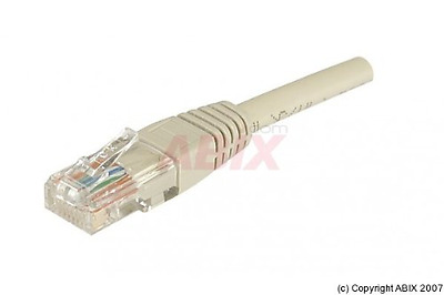 Dexlan Cordon RJ45 patch UTP CAT5e 0,30 m Alu / Cuivre