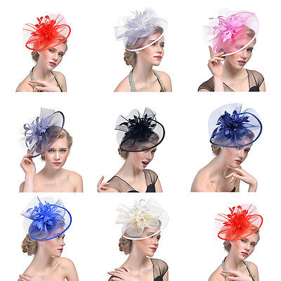 Large Headband Hat Fascinator Weddings Ladies Day Race Royal Ascot New