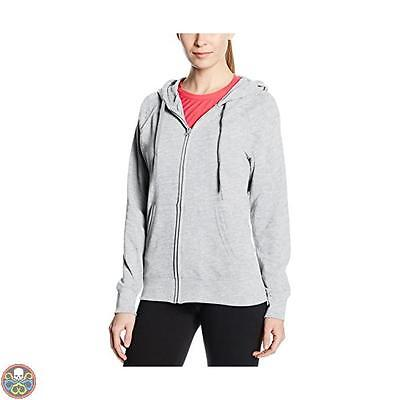 Fruit Of The Loom Tg: 42 Grey Ss099M Cappuccio Donna X-Small Small Nuovo