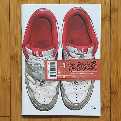 Sneaker Freaker Magazine Issue #1 Rare Collectors Item. Limited edition numbered