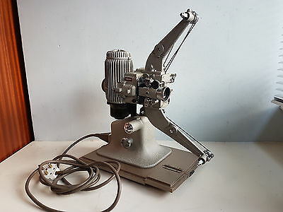 1950s VINTAGE BELL & HOWELL MODEL 613H 16mm SILENT MOVIE PROJECTOR