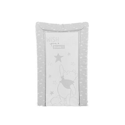Disney Changing Mat -  Dreams & Wishes White Grey Winnie The Pooh