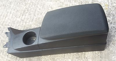 Bmw X3 E83 Centre Console & Leather Armrest In Black