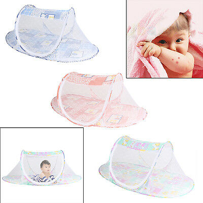 Baby Foldable Mosquito Nets Travel Tent Netting Canopy for Nursery Crib Bed Cot