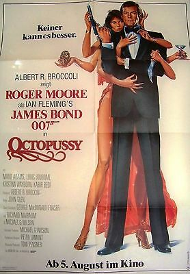 James Bond + 007 + Roger Moore + Octopussy + Style B + Great German +