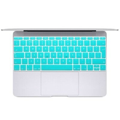 ELETTRONICA Baby Blue Soft 12 inch Translucent Colorized Keyboard Protective Co