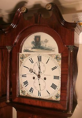 "Antique Mahogany "" Edinburgh"" Automation Zodic Longcase / Grandfather Clock • £675.00"