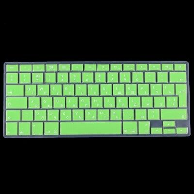 TECH Green Colorized Apple Laptop Silicone Keyboard Protector Protective Film f