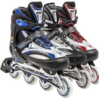 Adjustable Men Roller Blades Inline Skates Size 9-11