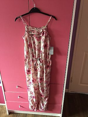 girls jumpsuit 8 Years BNWT