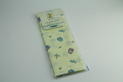 Mothercare Winnie The Pooh Cot Pillowcase, 60 X 40Cm, New In Pack