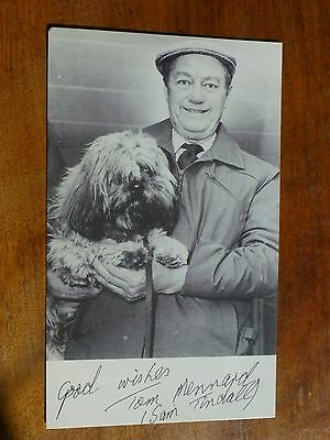 TOM MENNARD - Sam Tindall on CORONATION STREET Actor Postcard i29