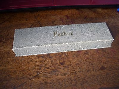Vintage Boxed Blue Parker 45 Studentxf Fountain Pen Untested For Writing Ability