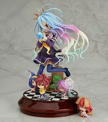 NEW Anime NO GAME NO LIFE SHIRO 1/7 Scale STAND VER. Figure Figurine