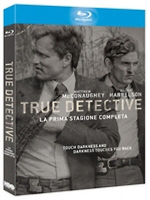 True Detective - Stagione 1 (3 Blu-Ray Disc) - ITALIANO ORIGINALE SIGILLATO -