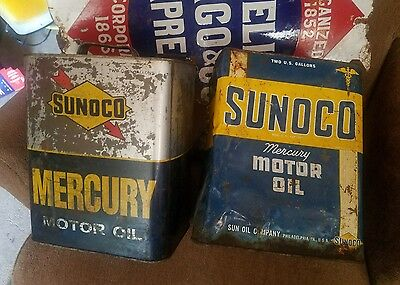 sunoco 2 gal oil cans