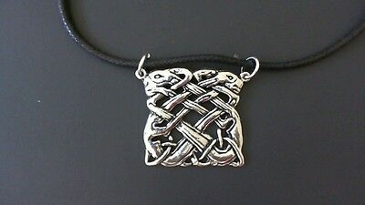 Book of Kells Pewter Pendant Necklace! New Made in USA Celtic Irish Ireland