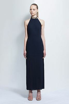 KEEPSAKE THE LABEL - Reckless Maxi Dress (ink blue/navy) small (size 8) womens