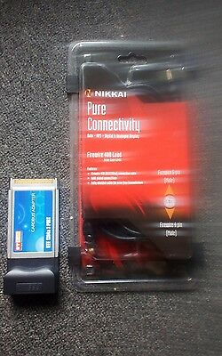 cardbus adaptor and firewire cable brand new