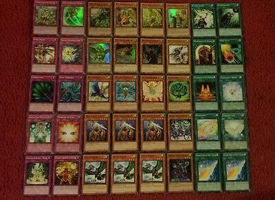 Yu-Gi-Oh Mist Valley and Gusto Deck - 40 cards complete BONUS 5 cards