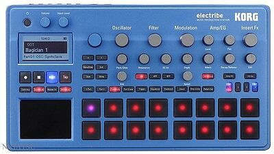 NEW KORG ELECTRIBE2BL electribe MUSIC PRODUCTION STATION BLUE from JAPAN