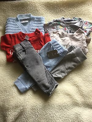 Pre-loved/0-3 Month/boys Clothes Bundle/ Tops B1