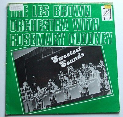 "The Les Brown Orchestra With Rosemary Clooney Art-003 12"" Vinyl Jazz Lp Ex / Vg"