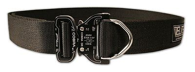 Elite Survival Tactical Nylon Cobra Rigger's Belt with D Ring Buckle Black Small