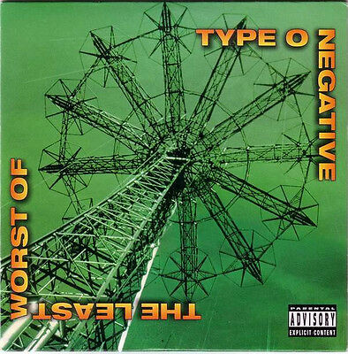 Type O Negative  – The Least Worst Of   (2000-CD-promo)