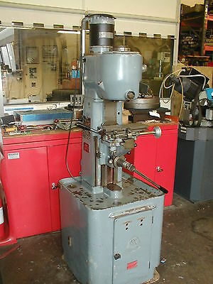 Adcock & Shipley Small Vertical Milling Machine, 240 Volt Single Phase.