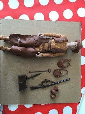 Vintage Marx Johnny West Action Figure With Accessories Rare
