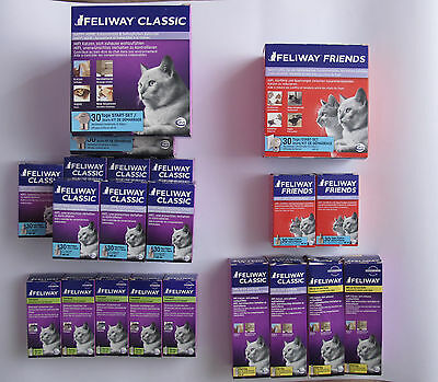 Feliway Classic & Friends Lot: 21 x Dispensers, Sprays, Refills.