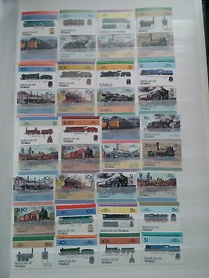 J623. Tuvalu. 2 Pages Timbres Neufs