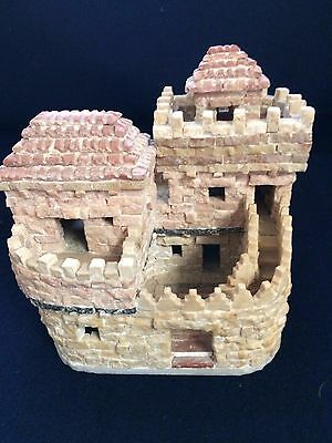 Collectors Item Hand Made Original stones Of hills Of Jerusalem Carved House